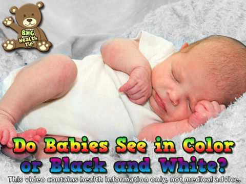 Do Babies See In Color or Black and White? (Baby Health ...