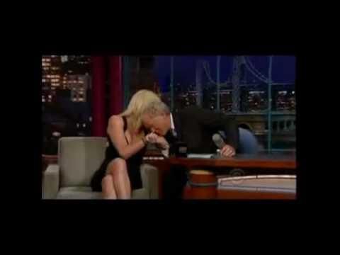 David Letterman - flirting 2 (Great Moments)