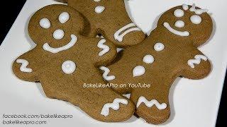 Chewy Gingerbread Men Cookies Recipe