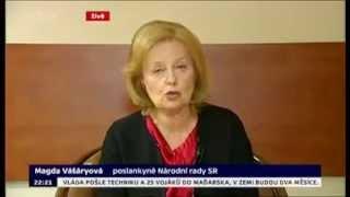 Magda Vášáryová o uprchlické krizi