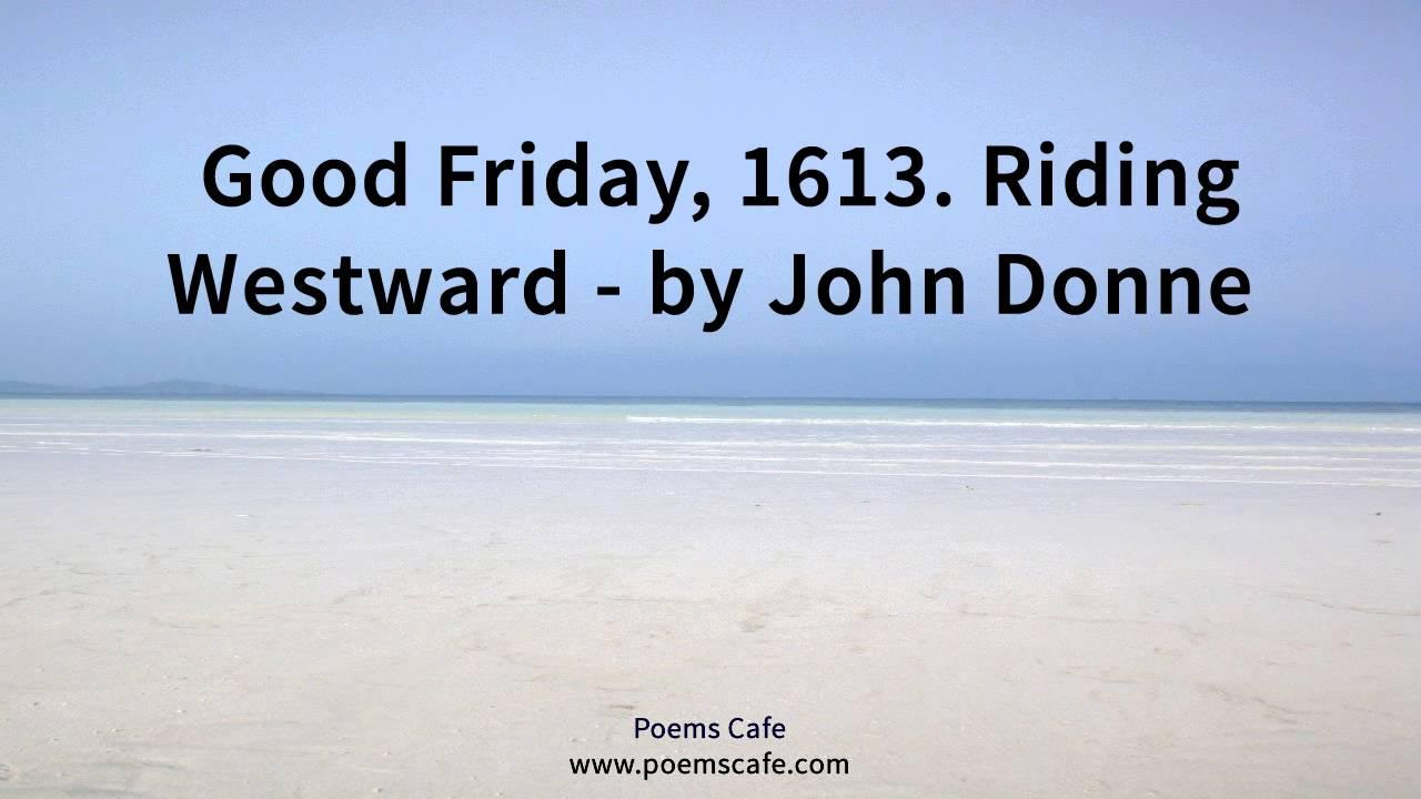 john donne good friday