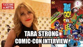 Tara Strong - TEEN TITANS GO! VS TEEN TITANS Comic-Con Interview - SDCC 2019