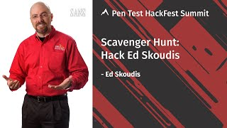 2020 HackFest Scavenger Hunt with Ed Skoudis | SANS Pen Test HackFest Summit 2020