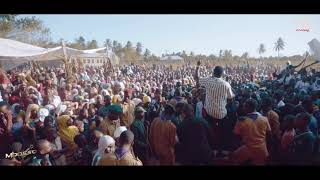 Mbosso Akiimba Maajab na wanafunzi wa msafiri secondary school Kibiti/Rufiji/Tanzania