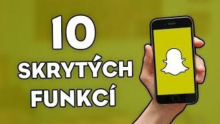10 SKRYTÝCH FUNKCÍ NA SNAPCHATU!