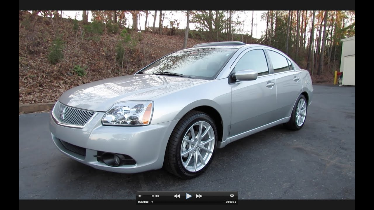 2012 Mitsubishi Galant Se Start Up Exhaust And In Depth Tour Youtube