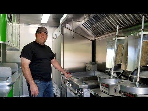 16' Gyro Food Trailer - Video Tour