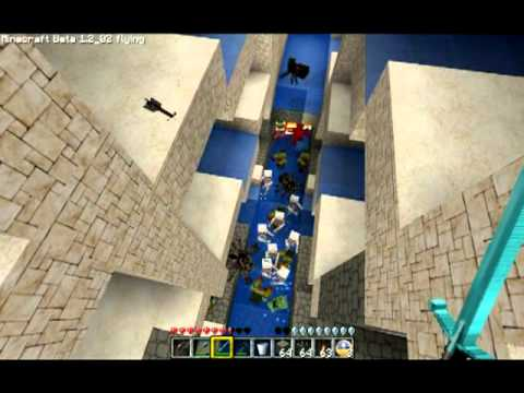 TazRunners GIANT Minecraft Mob Trap Amp Item Collector