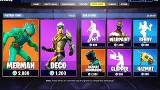 NEW LEAKED LEGENDARY SKINS! FORTNITE SKIN UPDATE! NEW Venturion, Moisty Merman, Hazard Agent SKINS