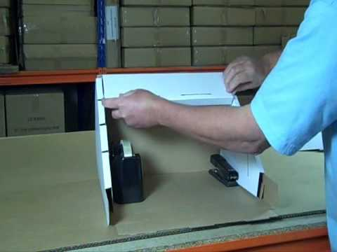 40 Cardboard Display Stand Assembly Instructions YouTube Magnificent Cardboard Card Display Stand