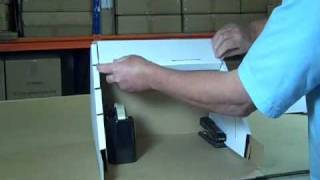 9335 cardboard display stand assembly instructions.