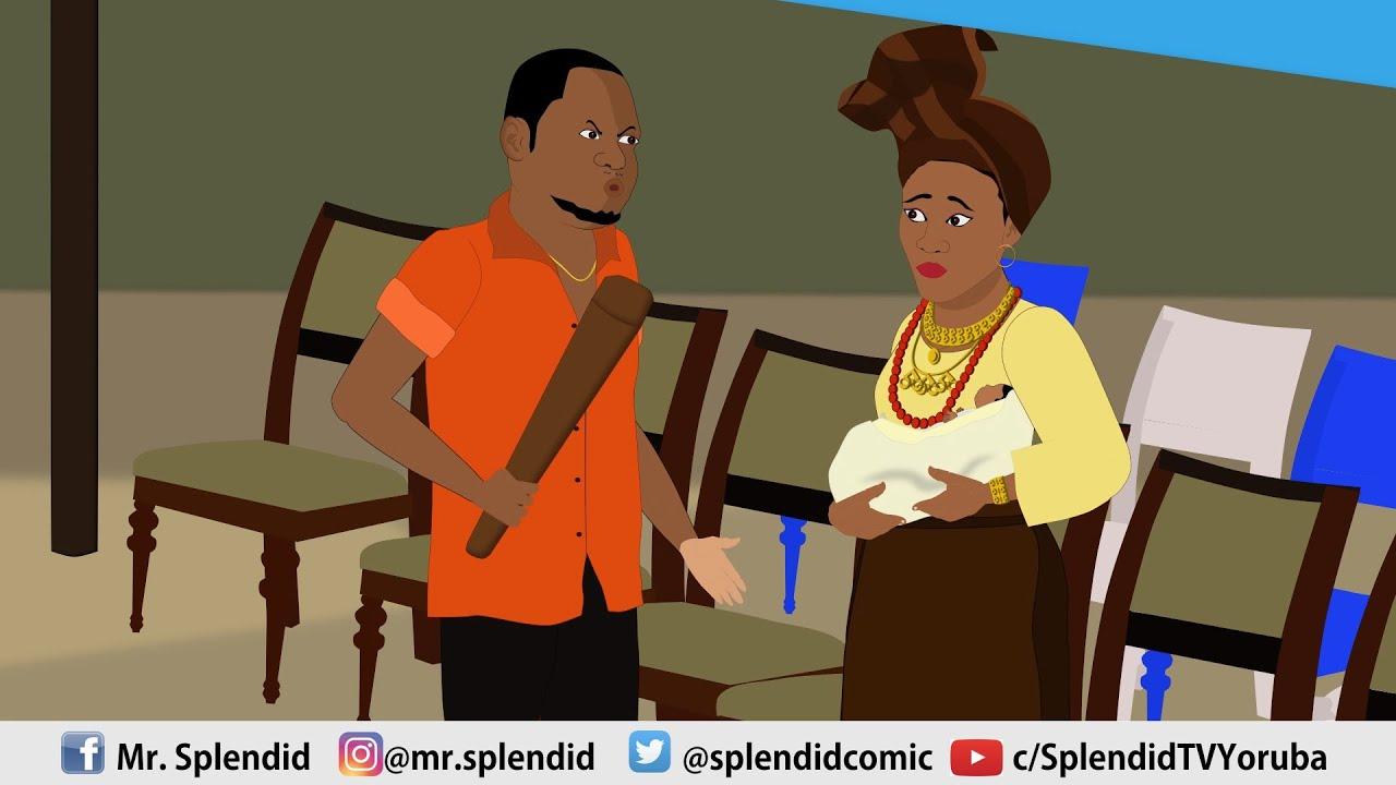 Download AROLE (HEIR) EP 7-Latest Yoruba Animated movie 2021 featuring Muyiwa Ademola and Bukunmi Oluwasina