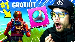 SKIN GRATUIT, NOUVELLE GRENADE sur FORTNITE: Battle Royale !!