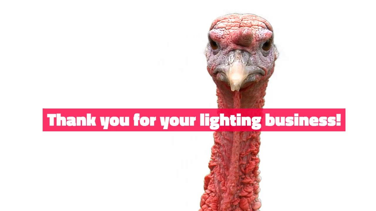 Happy Thanksgiving - Cost Less Lighting 2017 LED High Bays, Flat ...