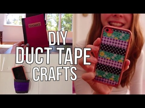 Diy Duct Tape Washi Tape Crafts Projects