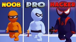 NOOB vs PRO vs HACKER – Stealth Master (iOS)