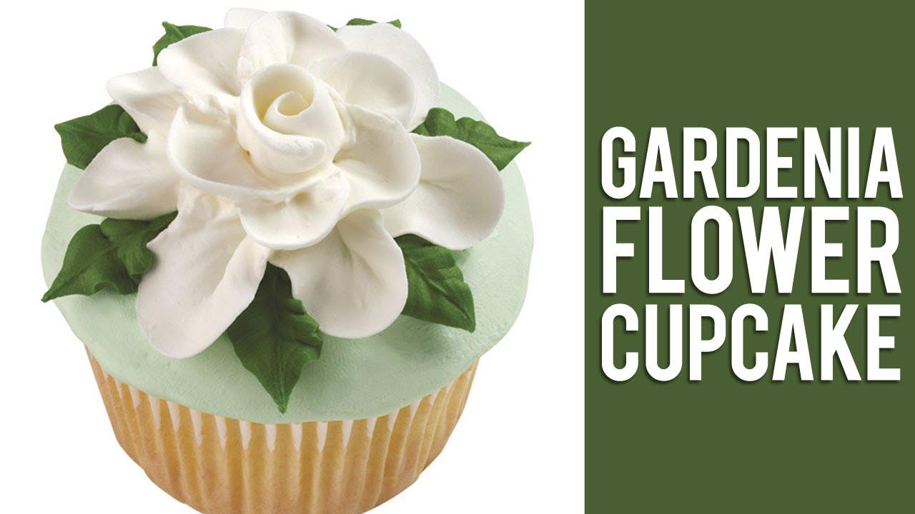 How To Make Buttercream Gardenia Flowers   YouTube