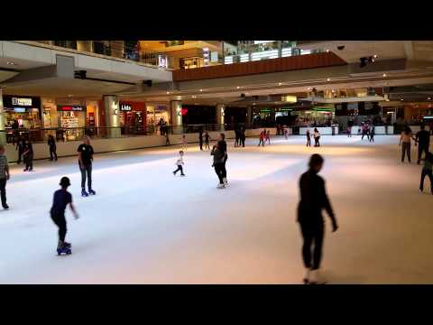 #77 People Ice skating at the Galleria... Houston Tx.