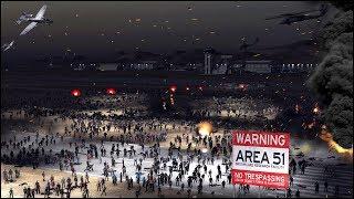 IF MILLION PEOPLE STORM AREA 51 - CINEMATIC RAID