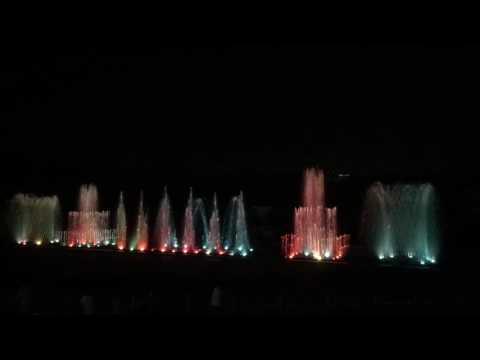 JP Park  Musical Fountain  (Bangalore)