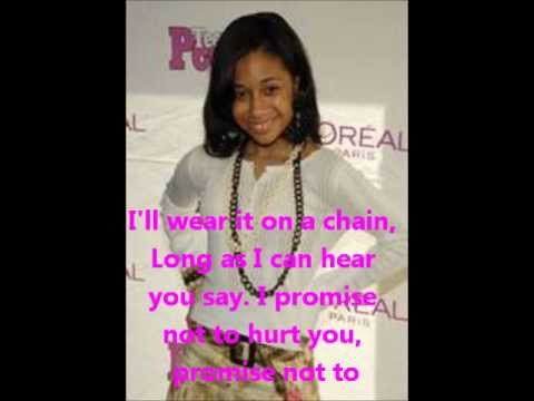 Tiffany Evans Ft Ciara Promise Ring Lyrics Youtube
