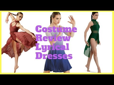 Weissmans Costumes Spring Review pt 5 - Lyrical Dresses