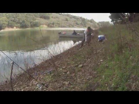 FISHING WITH CAMO-JOE ...SAN PABLO DAM FEB-12-2016