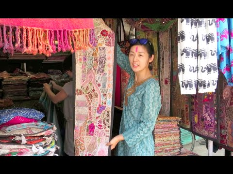India Vlog: Shopping in Jodhpur! Clock Tower, Sardar Market!
