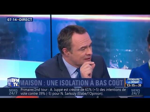 BFM TV : Isolation Combles pour 1€