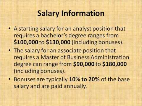 Investment Banking Salary