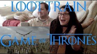 Game of Thrones 7x4 scene - Loot Train Attack (Dany/Drogon/Dothraki v Jaime/Bronn!!) - REACTION