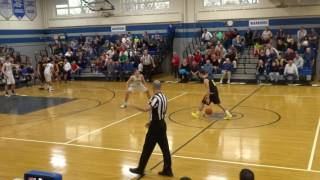 PJ Ringel hits a three to end the first half