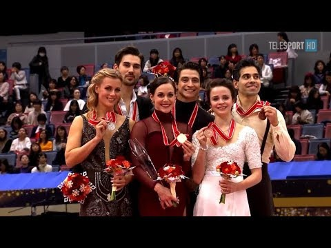 NHKTrophy2017 Ice Dance Victory Ceremony