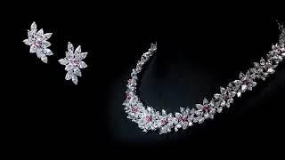 JTO FINE JEWELRY PINK DIAMOND BRACELET RING NECKLACE EARRINGS