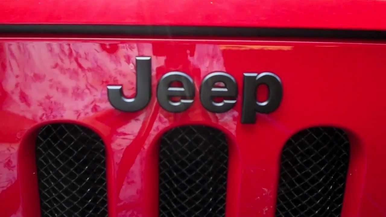 Grand Cherokee Altitude >> Blackout Jeep Emblem - YouTube