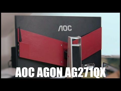 Test de l 39 cran gamer aoc agon ag271qx 27 2k prix en for Test ecran 27