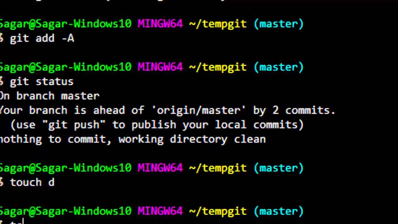 git add recursive