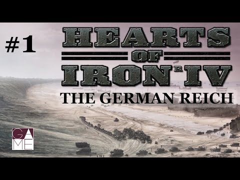 Hearts of Iron 4 - The German Reich // Episode 1 [Germany - 1936]