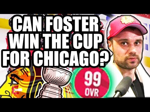 Could Scott Foster Lead The Chicago Blackhawks To Another Stanley Cup? (NHL 18 - 99 Overall Goalie)