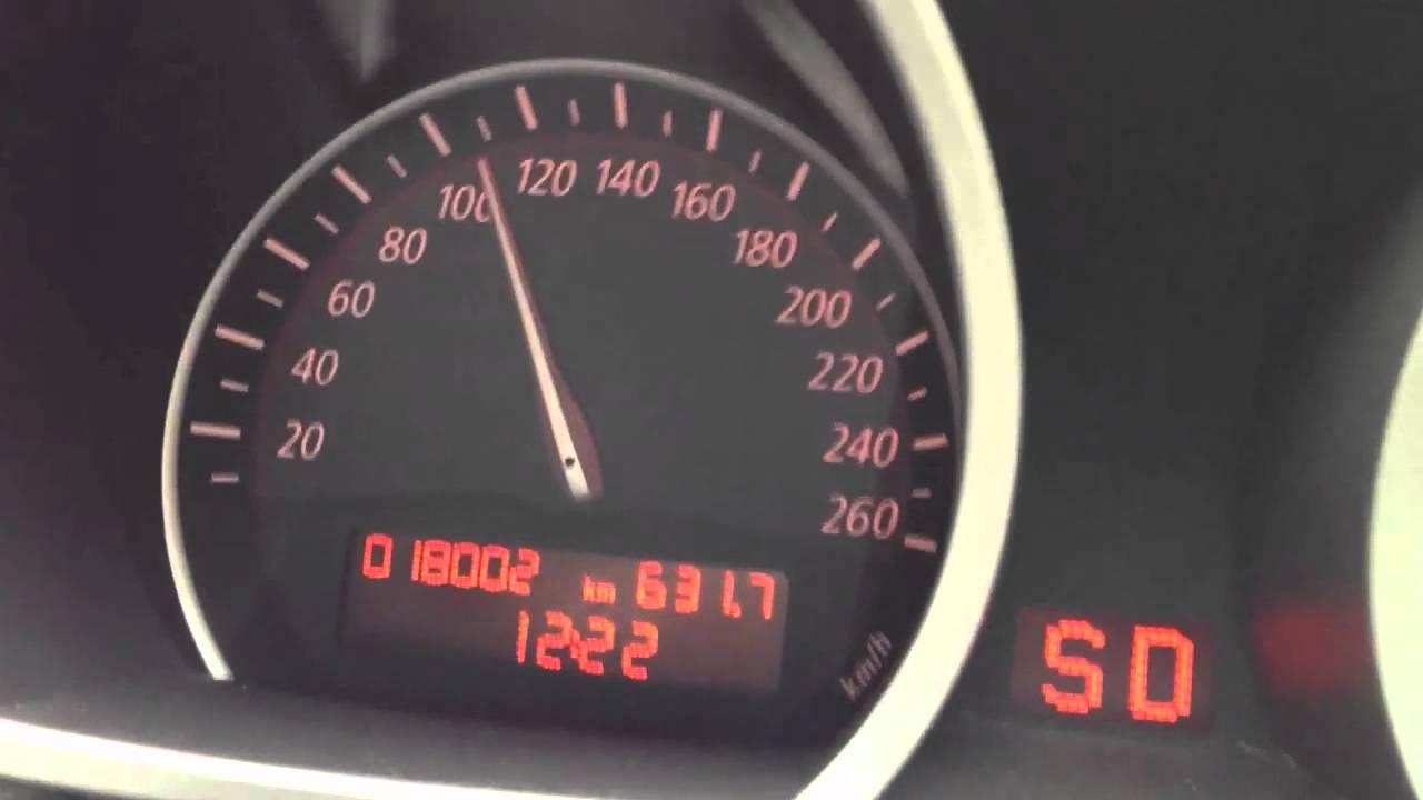 Bmw Z4 2 5i 0 100 Km H Youtube