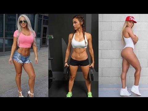 Девушки - фитнес -