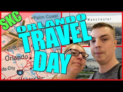 Orlando Florida Travel Days | Florida 2017 | Day 1 & 2