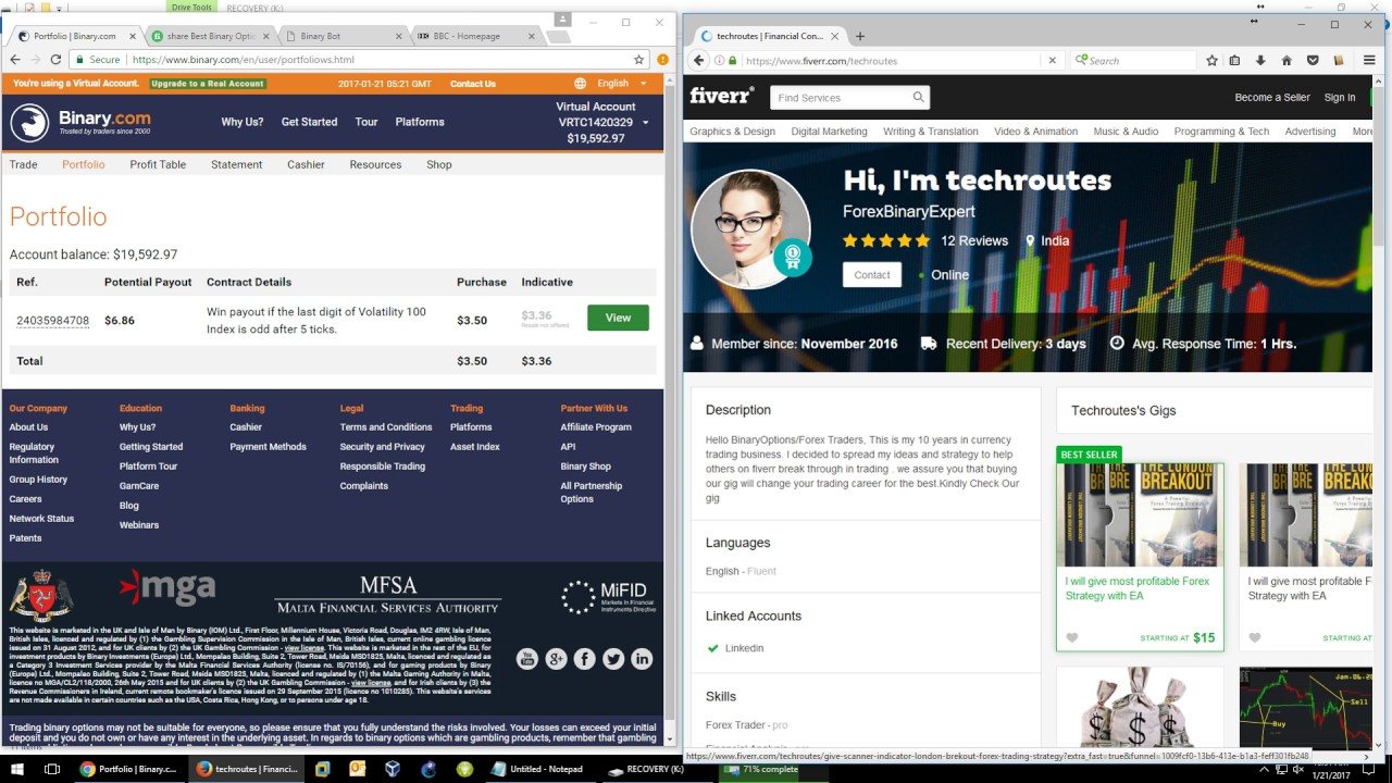 Best auto binary trader