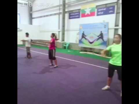 Myanmar, wushu team