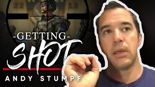 WHAT IT FEELS LIKE TO GET SHOT: Andy Stumpf Exposes The Reality Of Being Injured In A War Scenario