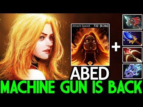 ABED [Lina] Super Machine Gun Is Back Brutal Show 7.22 Dota 2