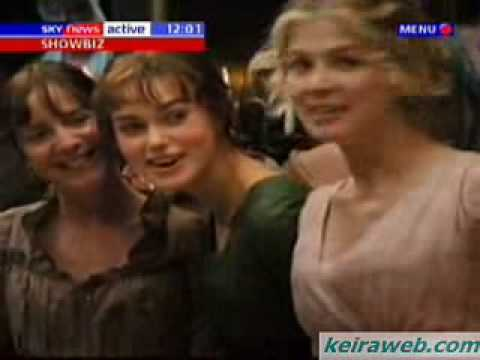 Pride & Prejudice UK premiere - Sky News