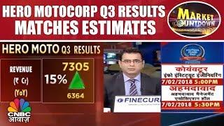 Hero MotoCorp Q3 Results Matches Estimates | Market Countdown | CNBC Awaaz
