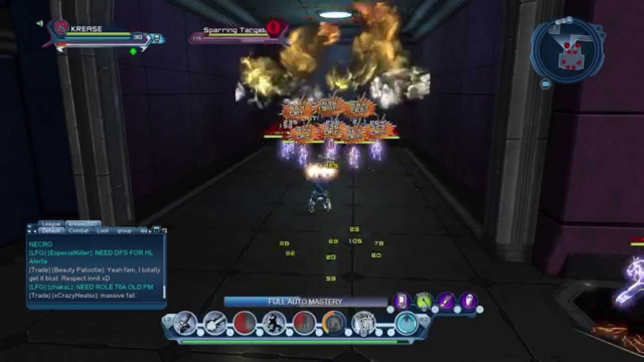 dcuo electric dps loadout am youtube