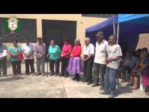 NUEVOS BENEFICIARIOS DEL PROGRAMA PENSIÓN 65 EN HUALMAY -2014